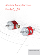 Absolute Rotary Encoders Family 58